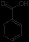 Benzoic acid (Source - Wikipedia)