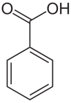 Benzoic acid (Source - Wikipedia)