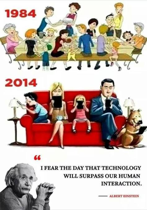 Did Albert Einstein Really Say That? | ImpressionsI Fear The Day That Technology Will Surpass Our Human Interaction
