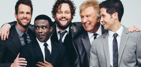 Adam Crabb, Todd Suttles, David Phelps, Bill Gaither, and Wes Hampton (Source: gaither.com)