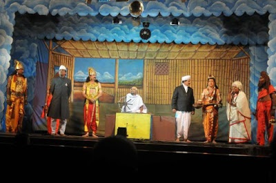 A drama performed on stage at Valayankulam (Source: dhinasari.com) - 2