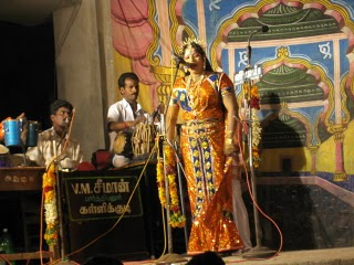 A drama peformed acon stage at Valayankulam (Source: dhinasari.com)