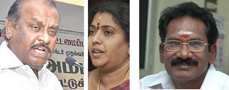 Three Ministers: Natham Viswanathan, Gokul Indra, Selur Raju) (Source: vikatan.com)
