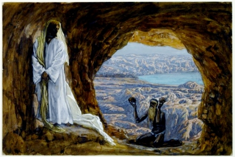 Jesus Tempted in the Wilderness by James Tissot (Brooklyn Museum, New York City)
