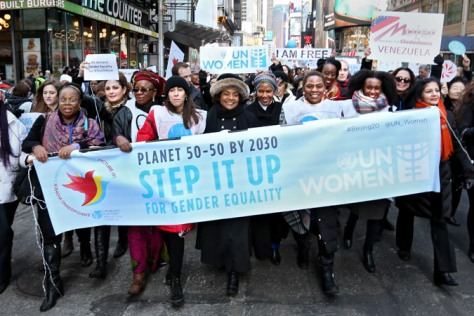 The International Women's Day 2016 (Photo: UN Women/Ryan Brown)