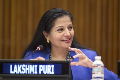 Lakshmi Puri - UN Women Deputy Executive Director (Source - ipsnews.net)