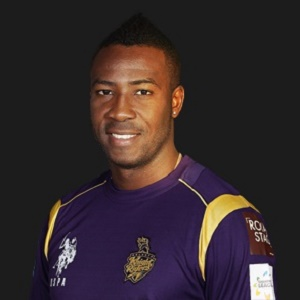 "Andre Russell - Kolkata Knight Riders is the ""Man of the Match"""