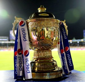 IPL 2015 Trophy (Source: rediff.com)