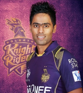 Suryakumar Yadav - IPL 2016 Kolkata Knight Riders (Source - iplt20wiki.in)