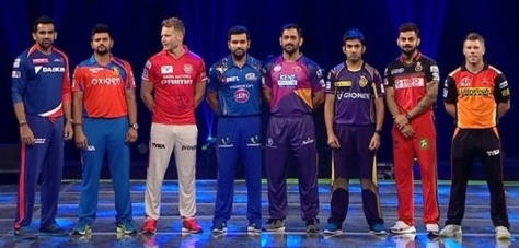 The Captains of the teams participating in Vivo Indian Premier League 2016 (IPL 9) (Sourc: indianexpress.com)