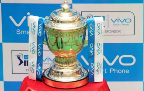 Vivo IPL 2016 Trophy (Source: twenty20wiki.com)