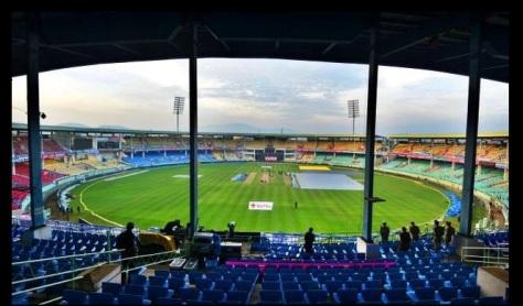 Dr. Y.S. Rajasekhara Reddy ACA-VDCA Cricket Stadium in Pothinamallayya Palem, Visakhapatnam, Andhra Pradesh (Source: ccl6t.com)