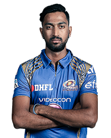 Krunal Pandya - Mumbai Indians - Vivo IPL 2016 (Source: iplt20.com)
