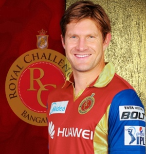 Shane Watson - Royal Challengers Bangalore (IPL 2016) (Source: iplt20