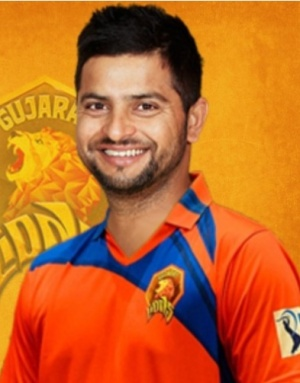 Suresh Raina - Captain of Gujarat Lions - Vivo IPL 2016 (Source: sportsind.com)