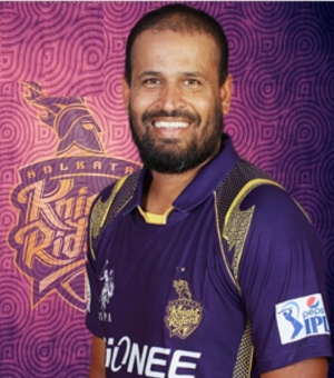 Yusuf Pathan - Kolkata Knight Riders - Vivo IPL 2016 (Source: iplt20wiki.in)