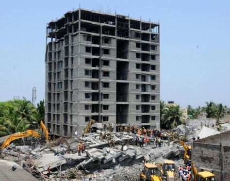 The 2014 Moulivakkam building collapse (Source: architexturez.net)