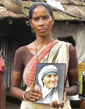 Monica Besra at her village in West Bengal (Photo: Kallol Majumder-HT Photo)