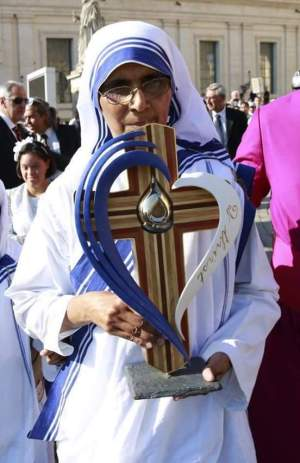 The reliquary containing the relic of Saint Teresa